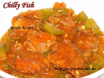 Indo Chinese Chilli Fish
