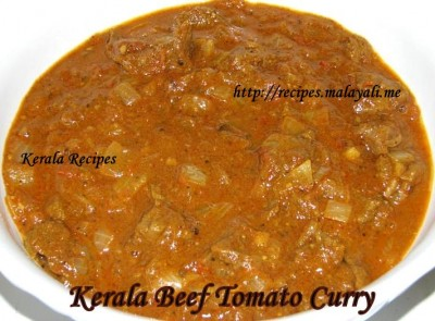 Kerala Beef Tomato Curry