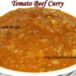 Indian Tomato Beef Curry