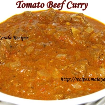Spicy Beef Tomato Curry