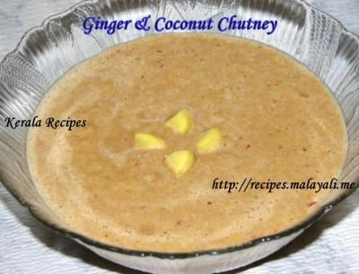 Ginger & Coconut Chutney