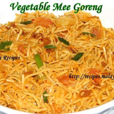 Vegetarian Mee Goreng