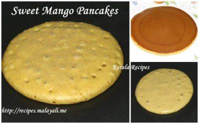 Sweet Mango Pancakes