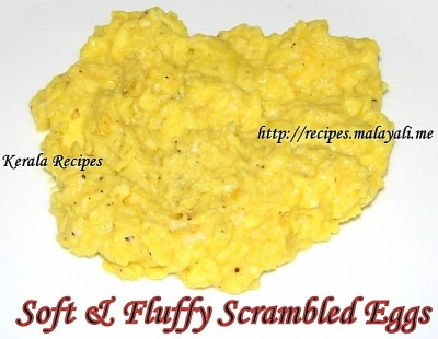 Soft, Creamy & Fluffy Scrambled Eggs