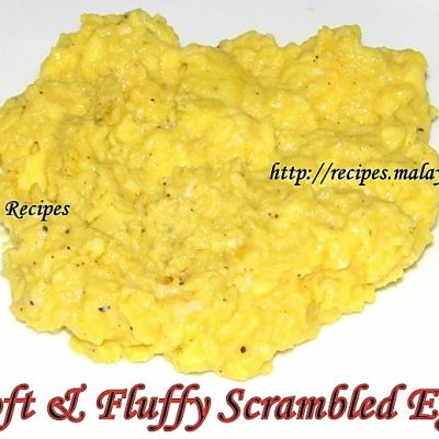 Soft & Fluffy Scrambled Eggs