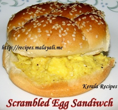 Scrambled Egg Sandwich