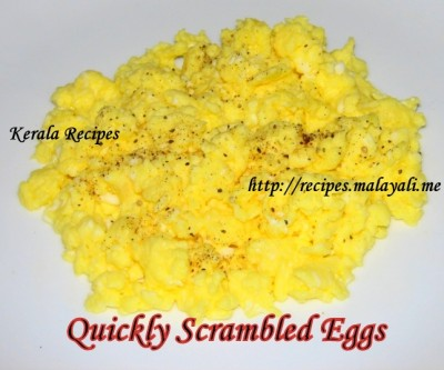 Quickly Scrambled Eggs