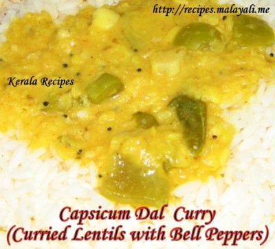 Capsicum Dal Curry