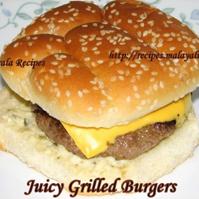 Grilled Cheeseburger