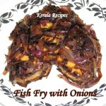 Fried Fish with Caramelized Onions
