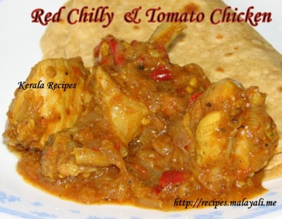 Red Chilly & Tomato Chicken
