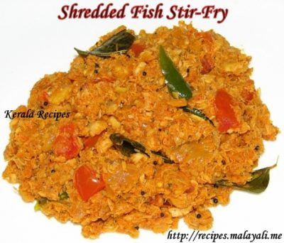 Shredded Fish Stir-Fry