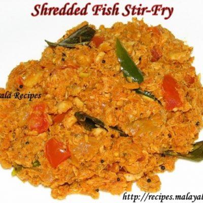 Fish Stir Fry (Meen Ularthiyathu)