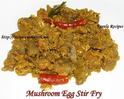 Mushroom & Egg Stir Fry