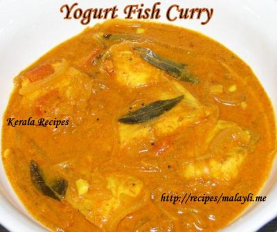Yogurt Fish Curry