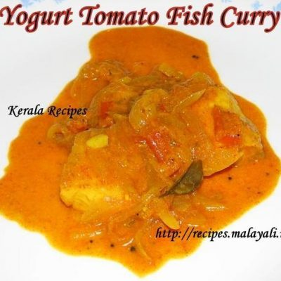 Yogurt Tomato Fish Curry
