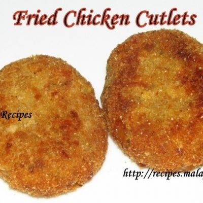 Fried Chicken Cutlets