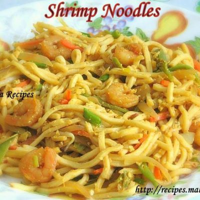 Masala Flavoured Shrimp Noodles