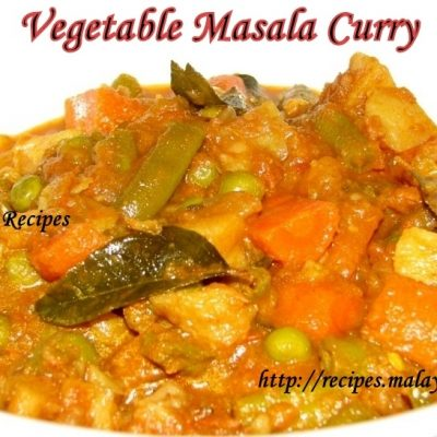 Vegetable Masala Curry