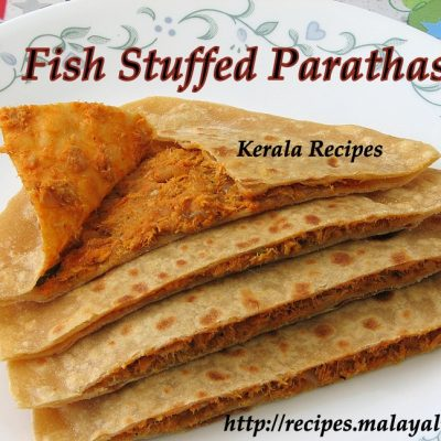 Stuffed Fish Parathas