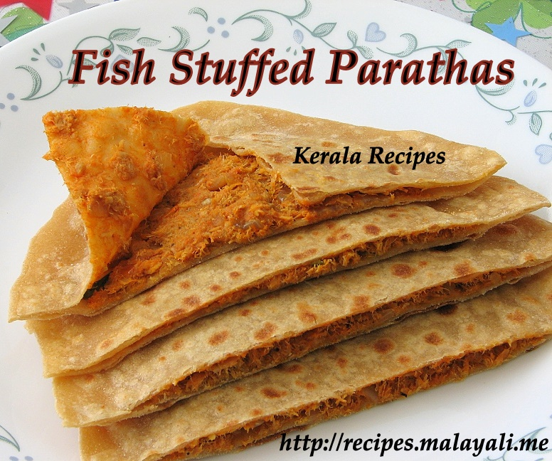 Fish Stuffed Parathas