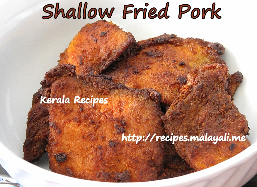 Shallow Fried Beef/Pork