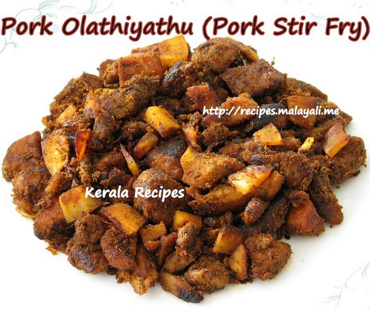 Pork Ularthiyathu