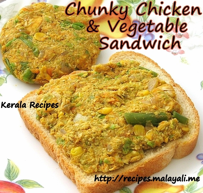 Chicken & Vegetable Sandwich