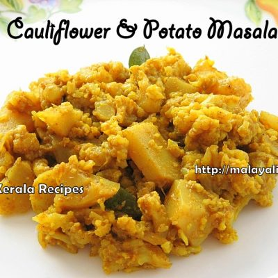 Cauliflower Potato Masala