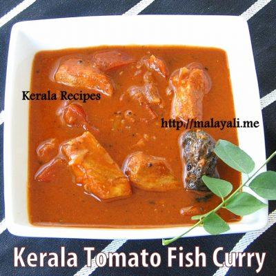 Kerala Style Tomato Fish Curry