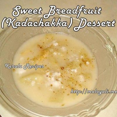 Breadfruit Pudding (Kada Chakka Payasam)