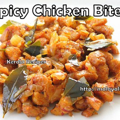 Spicy Boneless Chicken Bites