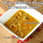 Asian Chicken Curry in Peanut Sauce