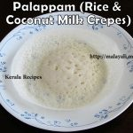 Traditional Palappam