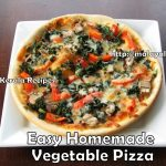 Home made Vegetable Pizza