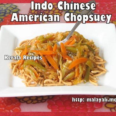 American Chop Suey – Vegetarian