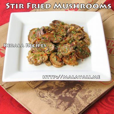 Simple Mushroom Stir Fry