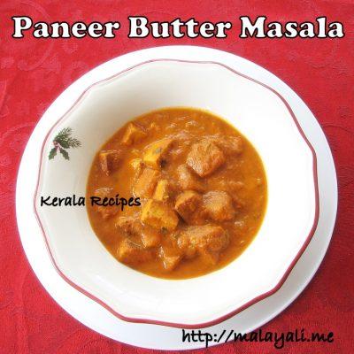 Paneer Butter Masala (Paneer Makhani)