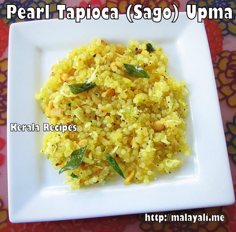 Pearl Tapioca Upma