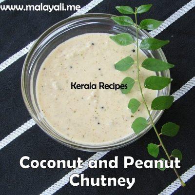 Coconut & Peanut Chutney