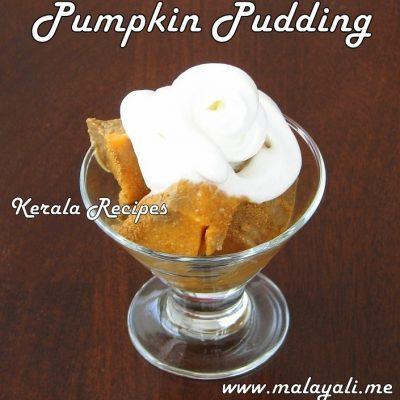 Pumpkin Pie Pudding