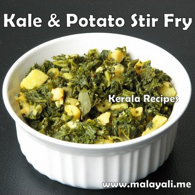 Kale & Potato Stir Fry