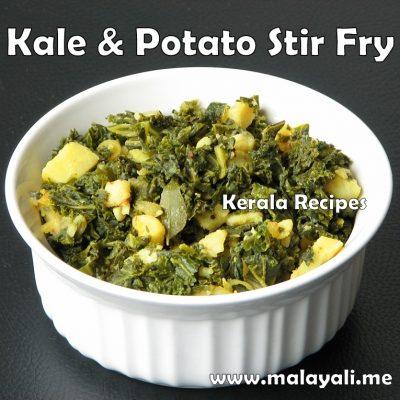Kale & Potato Stir Fry