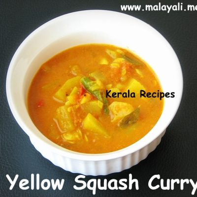 Yellow Squash & Tomato Curry