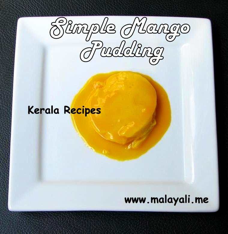 Simple Mango Pudding