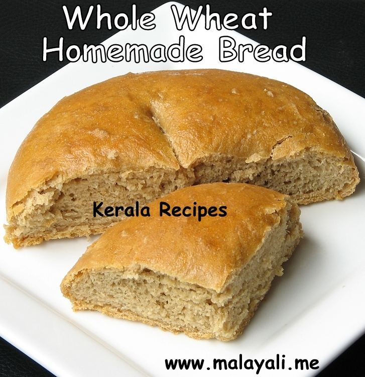 Whole Wheat Homemade Bread