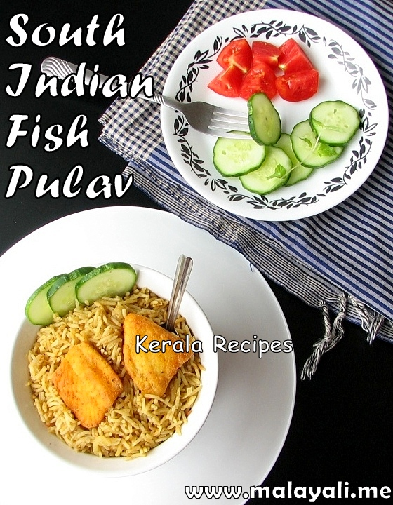 Spicy Fish Pulav