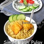 Simple Fish Pulav