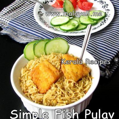 Indian Fish Pulav