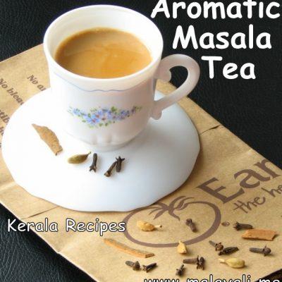 Masala Chai (Spiced Tea)
